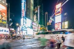 New York - 5 settembre 2010: Times Square il 5 settembre in nuovo Fotografia Stock Libera da Diritti