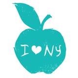 New York shoppingtema vektor illustrationer