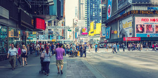 New York sidewalk Royalty Free Stock Images