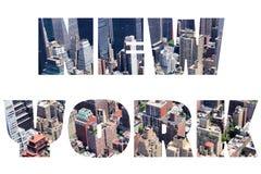 New York sign Stock Photos