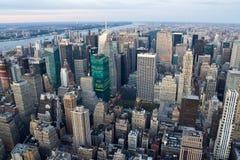 New York sikt av Manhattan royaltyfria foton