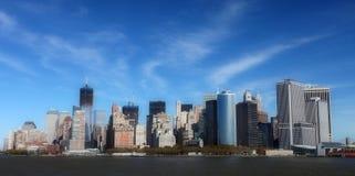 New York sity Arkivbild