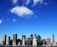 New York sky line Stock Photo
