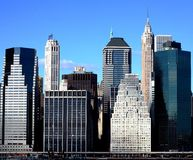 New York sky scrapers Royalty Free Stock Images