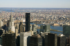 New York Sky Scrapers Royalty Free Stock Photography