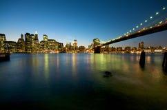 New York Skyline. Manhattan Skyline in New York City Stock Photos