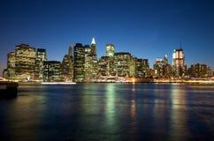 New York Skyline. Manhattan Skyline in New York City Royalty Free Stock Images