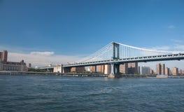 New york skyline. A shot of manhattan skyline during daytime Stock Images