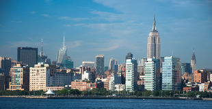 New york skyline. A shot of buildings in new york Stock Image