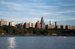 New york skyline. A shot of buildings in new york Royalty Free Stock Photo