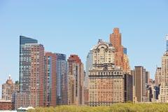 New York Skyline. Skyline of New York City, NY, USA Royalty Free Stock Images
