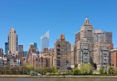 New York Skyline. Skyline of New York City, NY, USA Royalty Free Stock Photography