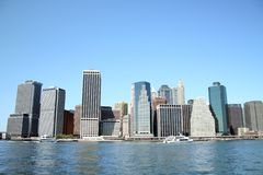 New York Skyline. The Skyline of New York Royalty Free Stock Image
