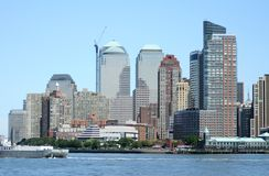 New York Skyline. The Skyline of New York Stock Images