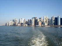 New York Skyline. A view on the New York skyline Stock Photography