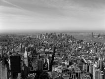 New York Skyline. As seen from the Empire State Building Royalty Free Stock Photo
