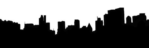 New York Skyline. The Skyline of New York City from Central Park Stock Images