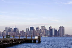 New york skyline in background Stock Photography