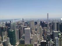 New York Skyline. A beautiful view of the New York City skyline Stock Photos