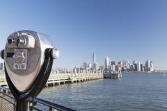 New York, skyline do Lower Manhattan fotografia de stock royalty free