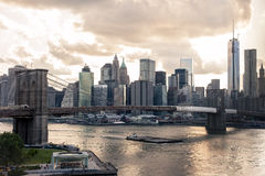 New York Skyline Royalty Free Stock Photography