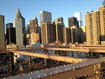 New York skyline - Financial District Stock Image