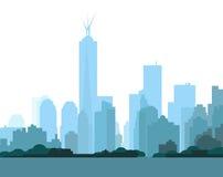 New York Skyline. Is a  illustration Stock Photography