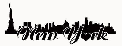 New York skyline Vector | Free Download