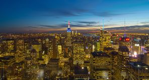 New York. Skyline New York Manhattan USA Royalty Free Stock Photo