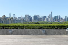 New York skyline from the Met Stock Photo