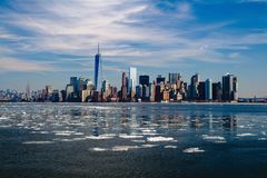 New York, Skyline, New York City Stock Image