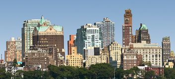 New York skyline panorama Stock Photography