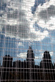 New York Skyline Reflection Royalty Free Stock Photography