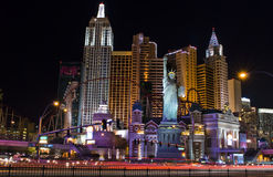 New york skyline in Vegas. New york New york in Las Vegas Royalty Free Stock Photography