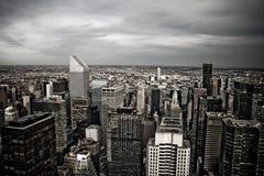 New York Skyline View Stock Photos