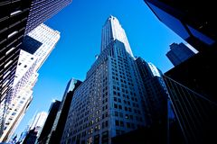 New York Skyscrapers Royalty Free Stock Photography
