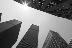 New York Skyscrapers Stock Photography