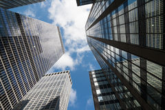 New York Skyscrapers Royalty Free Stock Photo