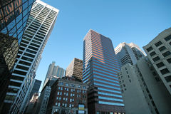 New York skyscrapers in Manhattan, USA Stock Image