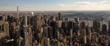 New York skyskrapor på Manhattan Royaltyfri Fotografi