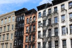 New York - SoHo Stock Foto's