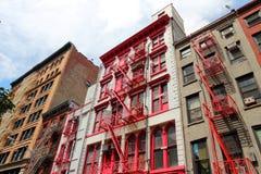 New York Soho Royalty Free Stock Photos