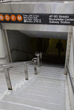 New York, souterrain Images stock