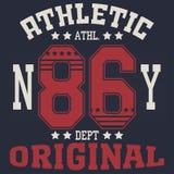 New york sport t-shirt Royalty Free Stock Image