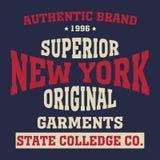 New york sport t-shirt Royalty Free Stock Photography