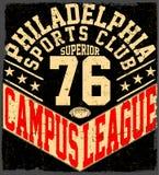 New York Sport wear typography emblem, american football,vintage Royalty Free Stock Photos