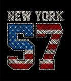 New York sportif, image de vecteur Images stock
