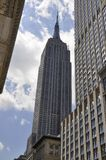 New York, 2st July: Empire State Building in Midtown Manhattan from New York City in United States royalty free stock photo