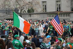 New York St Patrick's parade Stock Image