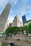 New York stads- plats Arkivfoton